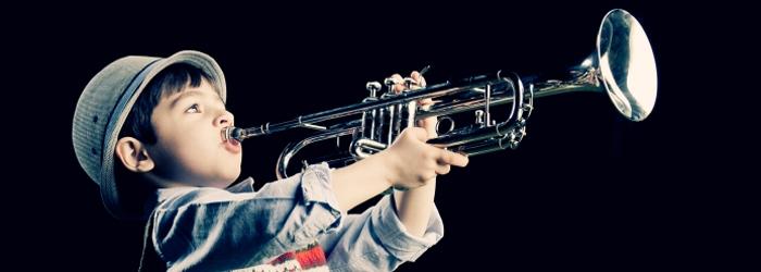 Blasinstrumente / Trompete, Flöte